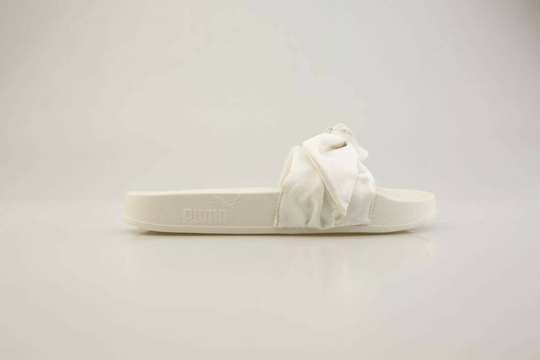 365774-02 Puma x Fenty By Rihanna Women Bow Slides white 365774-02 sandal