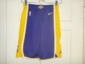 Youth Nike Los Angeles Lakers Purple//Gold Statement Swingman Shorts XL 18//20