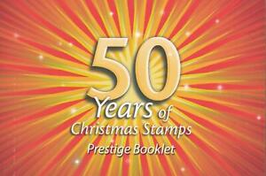 50-YEARS-of-CHRISTMAS-STAMPS-PRESTIGE-BOOKLET-AUSTRALIA-2007-MINT-PERFECT