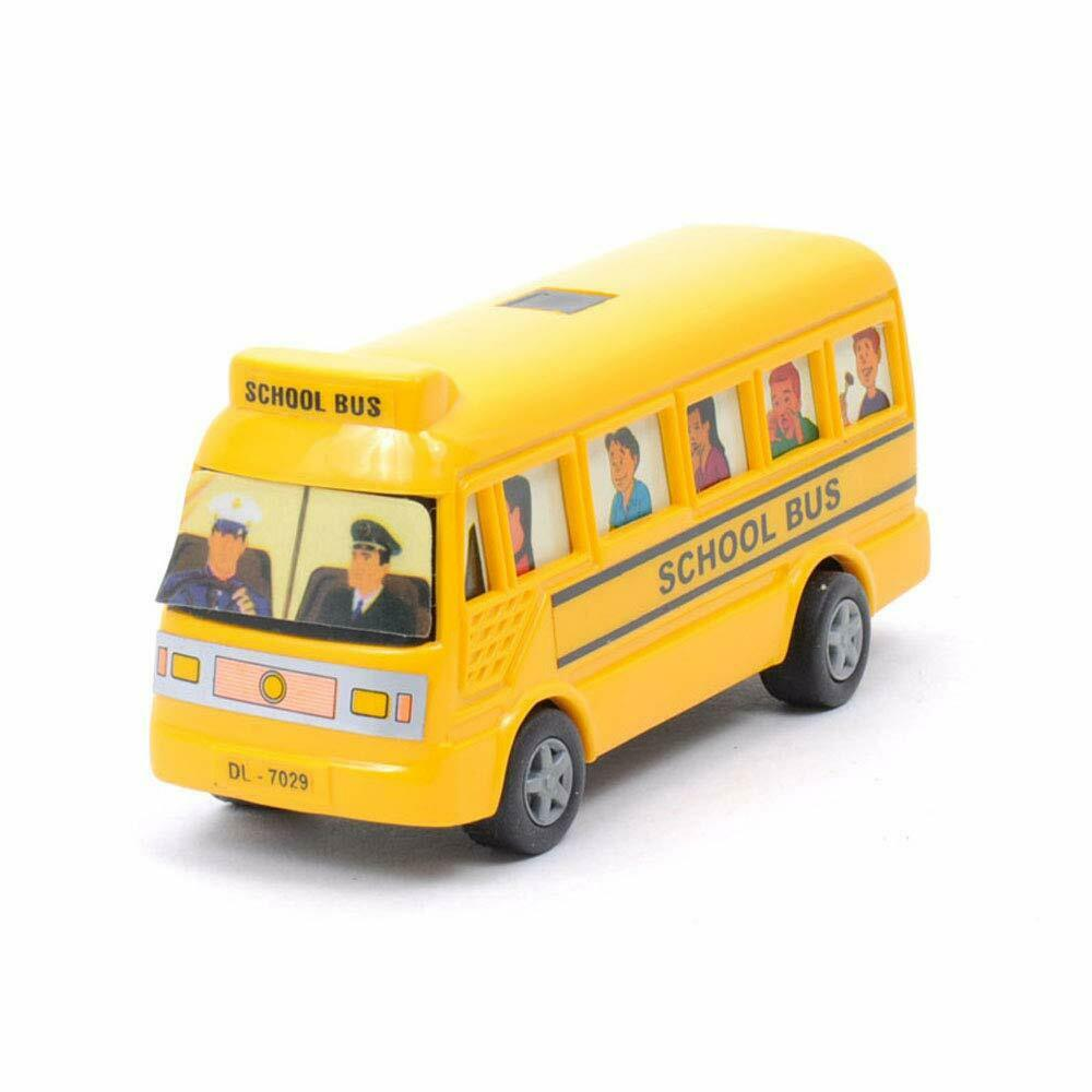 Toys School bus  Develops imagination and motor eye hand coordination skills