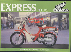 Honda-UK-NC50-Express-Deluxe-1980-gt-gt-Genuine-Factory-Sales-Brochure-NC-50-CA98