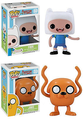 Television ~ FINN /& JAKE ADVENTURE TIME VINYL FIGURE SET Funko POP