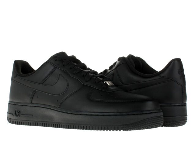 Nike Mens Air Force 1 Low 07 Basketball Shoes Black/black All Sizes 8.5