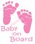 Baby-On-Board-Sticker-Vinyl-Decal-Window-Sticker-Car thumbnail 3