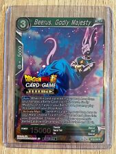 Godly Majesty BT8-053 R Dragon Ball Super TCG NEAR MINT 2x Beerus