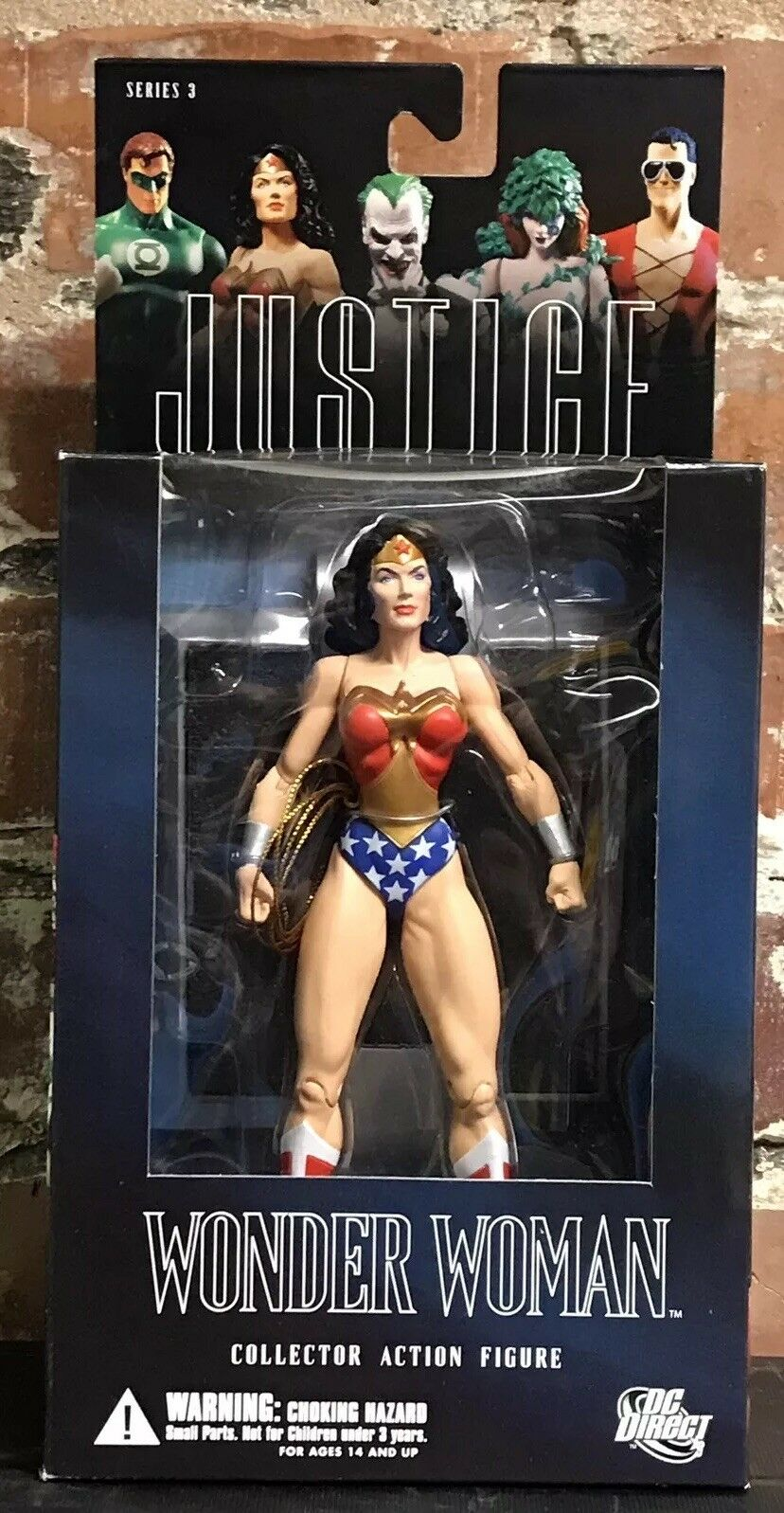 DC Direct Alex Ross Wonder Woman 6  Figure Series 3 Justice League JLA 2006 New