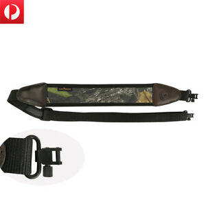 Tourbon-Rifle-Sling-Gun-Swivels-Padded-Strap-Tactical-Range-Shooting-Adjustable