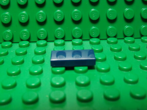Lego NEW dark blue 1 x 2 tile pieces   Lot of 10