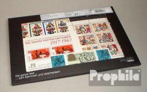 DDR-postfrisch-1967-kompletter-Jahrgang-in-sauberer-Erhaltung