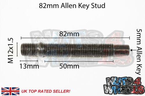 M12 x 1.5 75mm 82mm 90mm Stud Bolt~Nut Conversion Studs Various QTY/'s BMW MINI