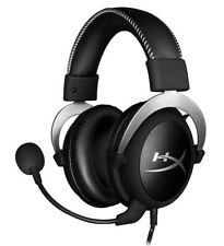 HyperX Cloud Silver Gaming Headset with In-Line Audio Control (HX-HSCL-SR/NA)