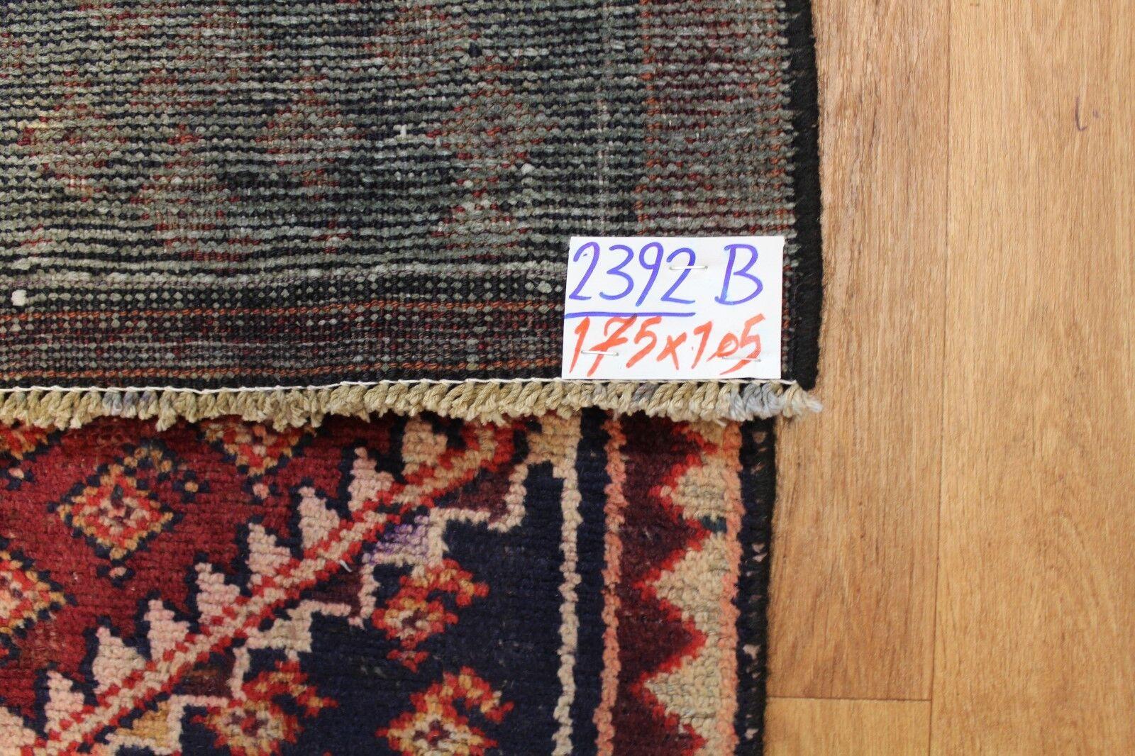 Traditionnel Vintage Laine Fait Main Main Main Classique Oriental Zone Tapis Moquette 175 x 105 cm | Vendant Bien Partout Dans Le Monde  8f3048