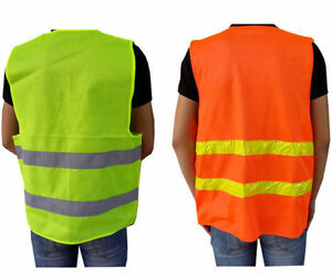 safety clothing running race vest high visibility