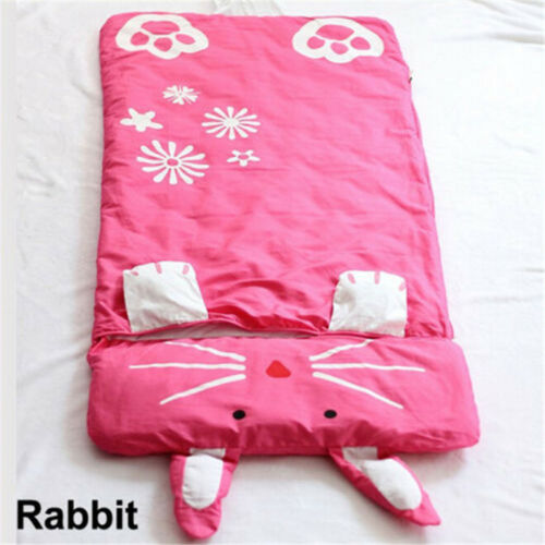 Cartoon Children/'s Sleeping Bag Anti-Kicking Warm Cotton Sleeping Camping Bag UK