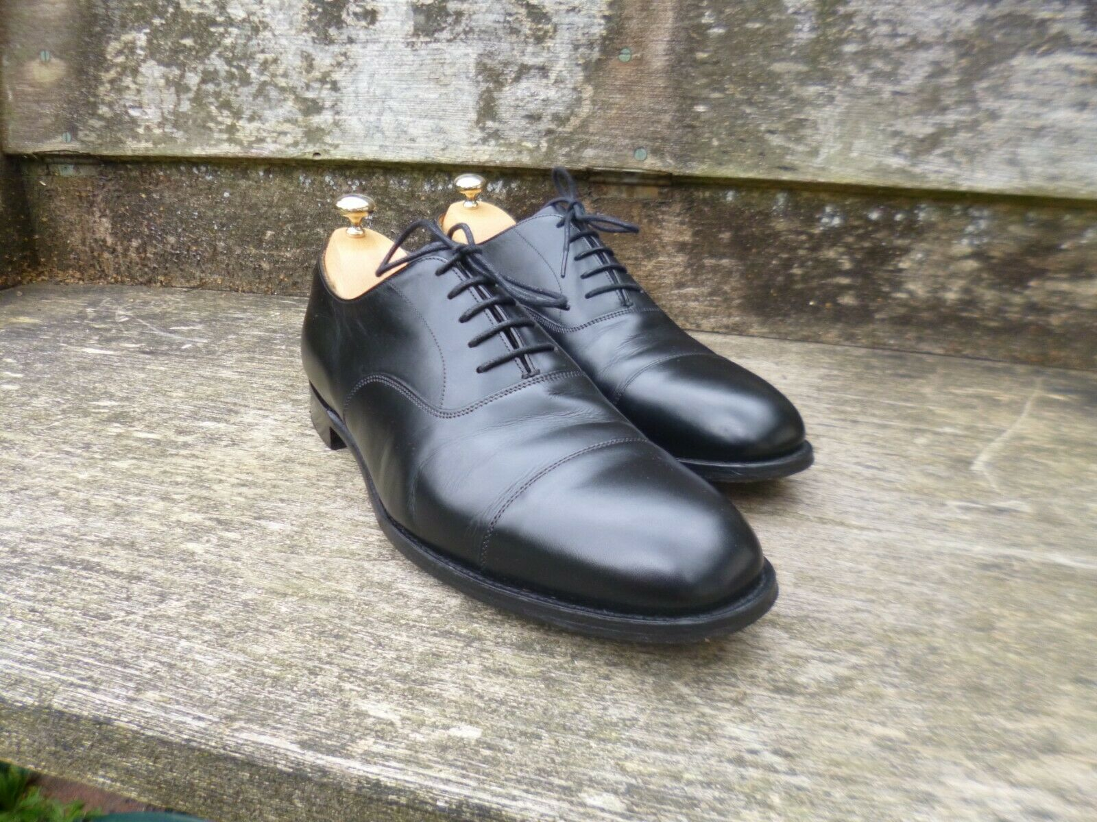 CHEANEY   CHURCH OXFORD schuhe – schwarz – UK 10.5 –  EXCELLENT CONDITION    | Schön und charmant