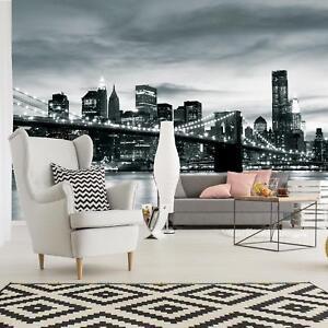 Photo Wallpaper Mural Non-woven 0030682D13 New York Pillars View