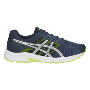 Blu 42 Asics Gel Contend 4 Scarpe Running Uomo Dark e/Silver/Safety 1cu