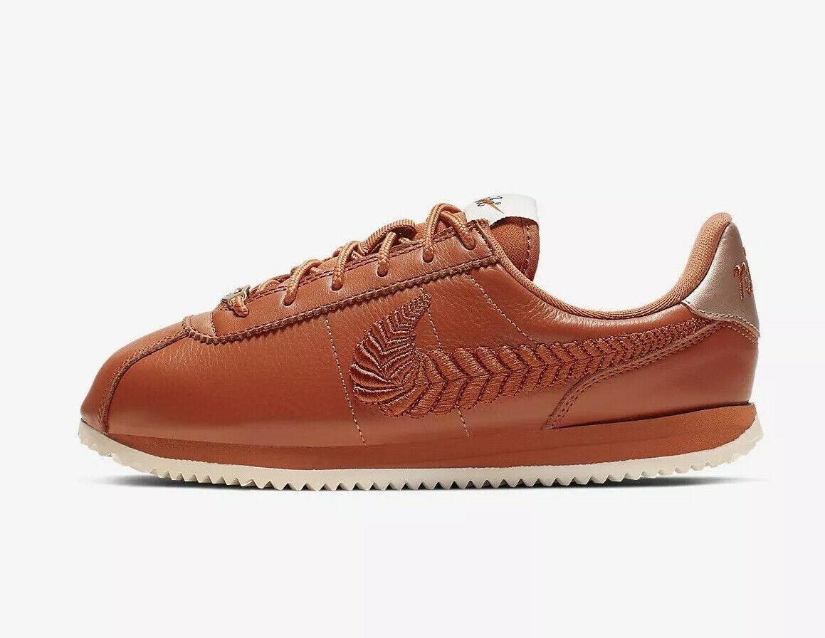38,39 NEU /& OVP Nike Classic Cortez Leather PRM WMNS Schwarz Gr