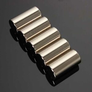 20Pcs-N50-Strong-Round-Disc-Neodymium-NdFeB-Magnets-Cylinder-Rare-Earth-10x20mm