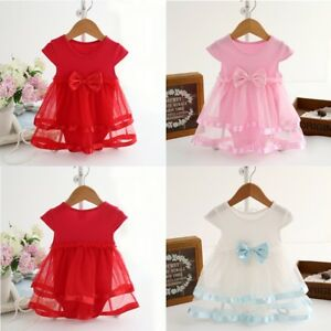 0-24M-Baby-Girl-Kid-Bow-Tulle-Tutu-Dress-Princess-Party-Outfit-Newborn-Tops