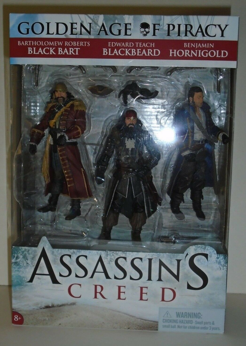 goldEN AGE OF PIRACY Assassin's Creed 6  inch Figures set pirate McFarlane