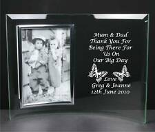 Personalised Engraved Mother Of The Groom Wood Photo Frame 6x4