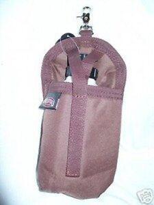 Weaver-Saddle-Water-Bottle-Horn-Bag-Horse-Tack-Holder-Brown