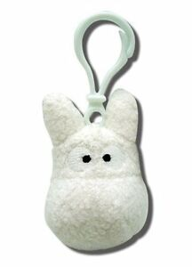 *NEW* My Neighbor Totoro White Backpack Clip Plush ...