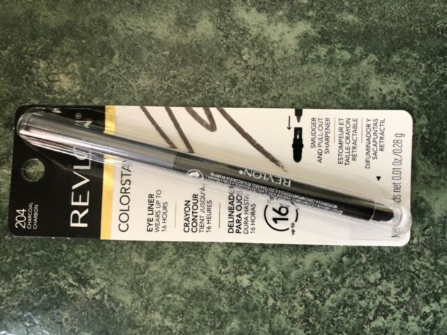 REVLON COLORSTAY EYE LINER (204 CHARCOAL/CHARBON) BRAND NEW IN SEALED PACK