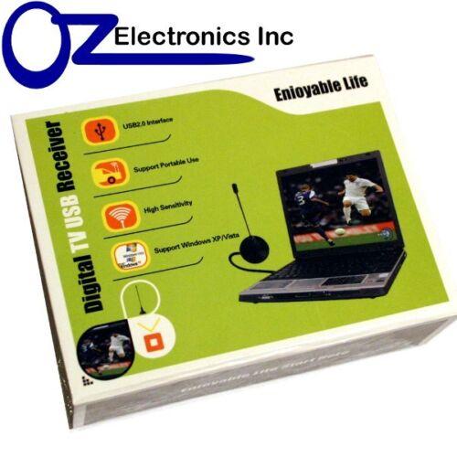 USB HDTV TV tuner for Windows 7 Australia DVB-T 4 Laptop /& PC Record digital TV