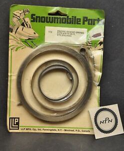 New NOS LLP Snowmobile Engine Rewind Recoil Spring Fits Hirth 55R-82R Engines