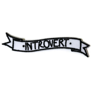 Introvert-Personality-Iron-On-Patch-Embroidered-Sew-On-Introversion