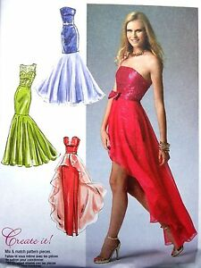 Image Is Loading Mccalls M6838 Mermaid Fish Tail Evening Gown Prom