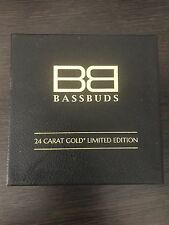 Bassbuds 24 quilates de oro In-Ear auriculares
