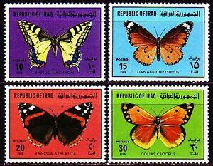Motive Insekten Und Schmetterlinge 1960 Postfrisch 100% Schmetterlinge