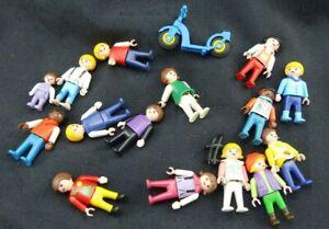 Playmobil-Figuren-Kinder-Baby-Roller-Buerger-Konvolut-Sp371