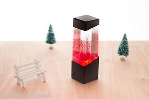 Mini Volcano Lamp Lava Eruption Desk Accessory Light