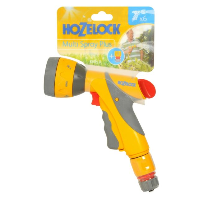 Strong//Durable with 3 Spray Patterns Hozelock Ultramax Multi Jet Spray Hose Gun