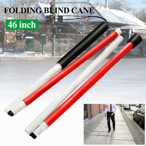 46-039-039-Foldable-Folding-Blind-Guide-Cane-Walking-Stick-Wrist-Strap-amp-Reflector