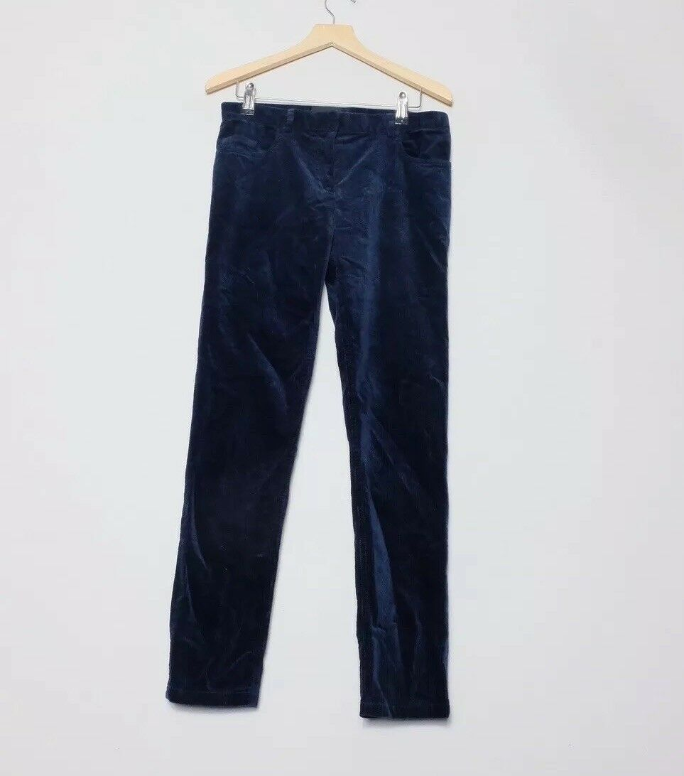 The Kooples Navy bluee Corduroy Trousers Size 32 XXS