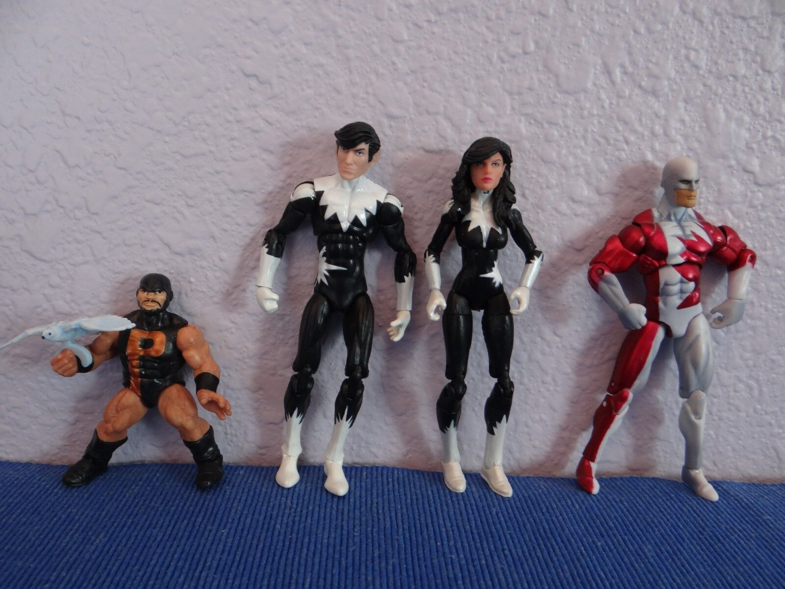 Alpha Flight 3.75'' Marvel Universe Legends(Perfect Paint,Tight Joints) lot of 4
