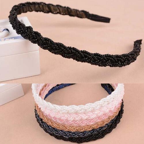 Crystal Head Chain Headband Piece Hair Band Girl Fashion Women Bead Rhinestone