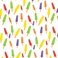 Printed Tissue Paper - Popsicles Pattern - 240 Sheets