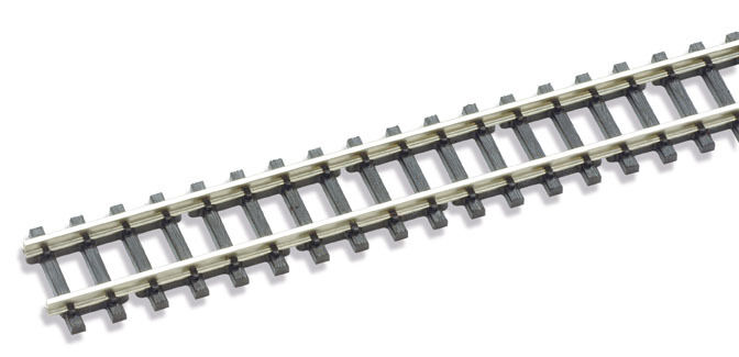 PECO SL200 12 x 24 Length Flexible Straight Track Section Code 60 Z Gauge nuovo