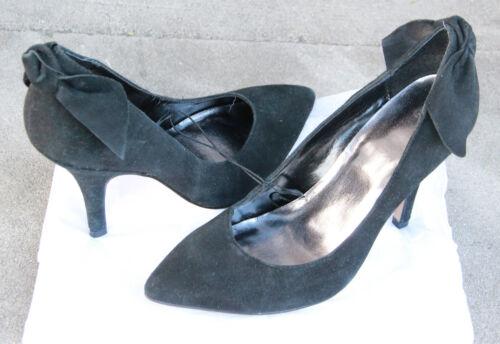 Gap m 7 noir accentués pour femmes daim neuf en taille escarpins qwHpPqZxA