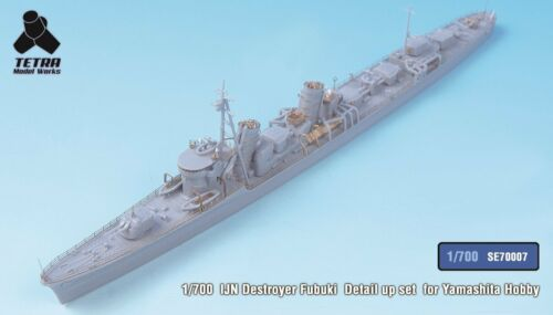 Tetra Model SE70007 1700 IJN Destroyer Fubuki Detail Up for Yamashita Hobby