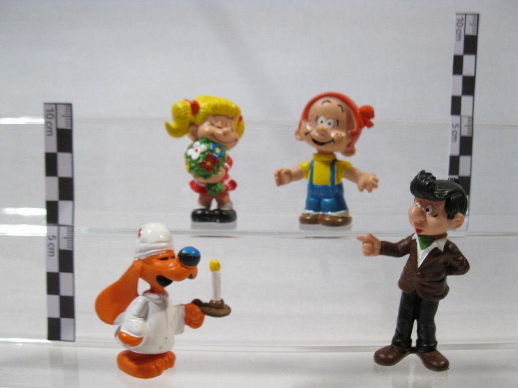 Boule + bill   schnieff und schnuff 4 figuren schleich 1985 papa, hilde 60077