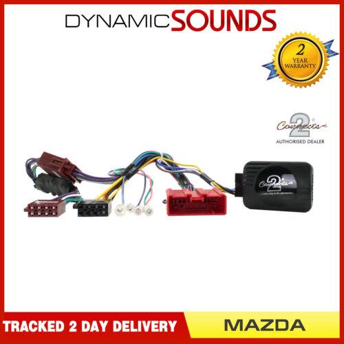 Ctsmz 001.2 adaptador de control de dirección tallo Estéreo Pioneer Para Mazda 6 2007-2010