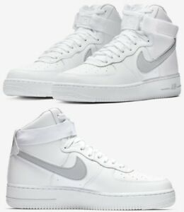 Nike Air Force 1 One High 07 Sneaker Men s Lifestyle Shoes White ... 901d78f2a4562