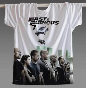 fbe8b11fc New Fashion Women/Men fast and the furious 7 3D Print Casual T-Shirt ...